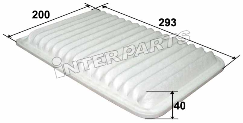 FRAM 호환 AIR FILTER CA10171 IPA-1006