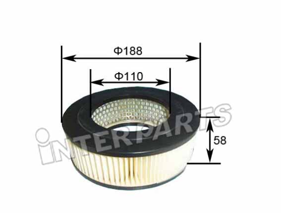 FRAM 호환 AIR FILTER CA4296 IPA-143