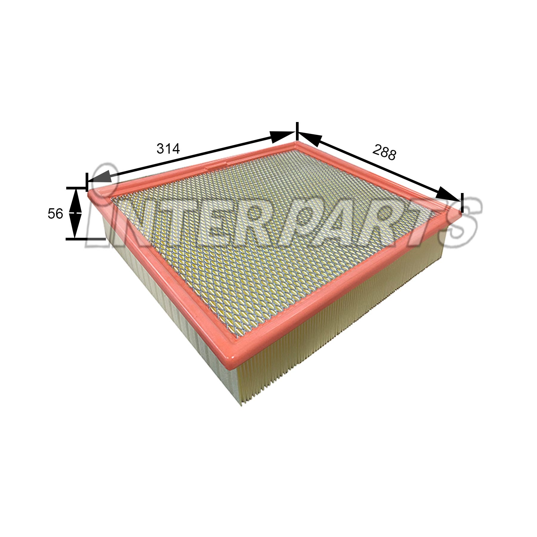 FORD 호환 AIR FILTER LC3Z9601A IPA-P578